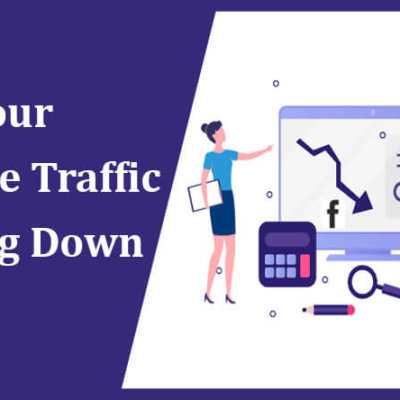 website traffic is going down