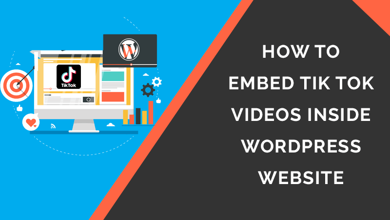 how to embed tiktok video in wordpress