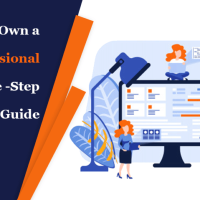 how to own a professional website