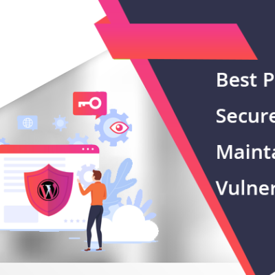 secure and maintain website vulnerabilities